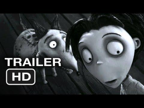 Frankenweenie Official Trailer #2 (2012) Tim Burton Movie HD