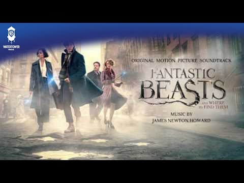Fantastic Beasts and Where To Find Them Official Soundtrack | Newt Says Goodbye to Tina | WaterTower