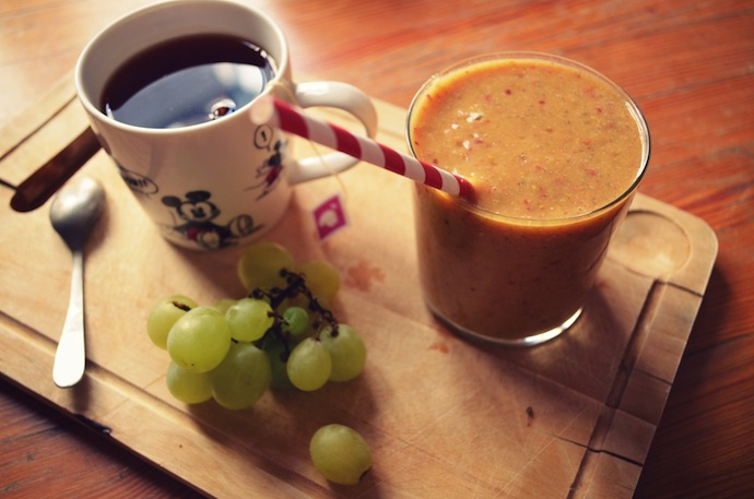 Smoothie & tea
