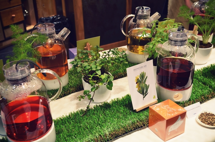 Lov Organic, atelier d'infusions