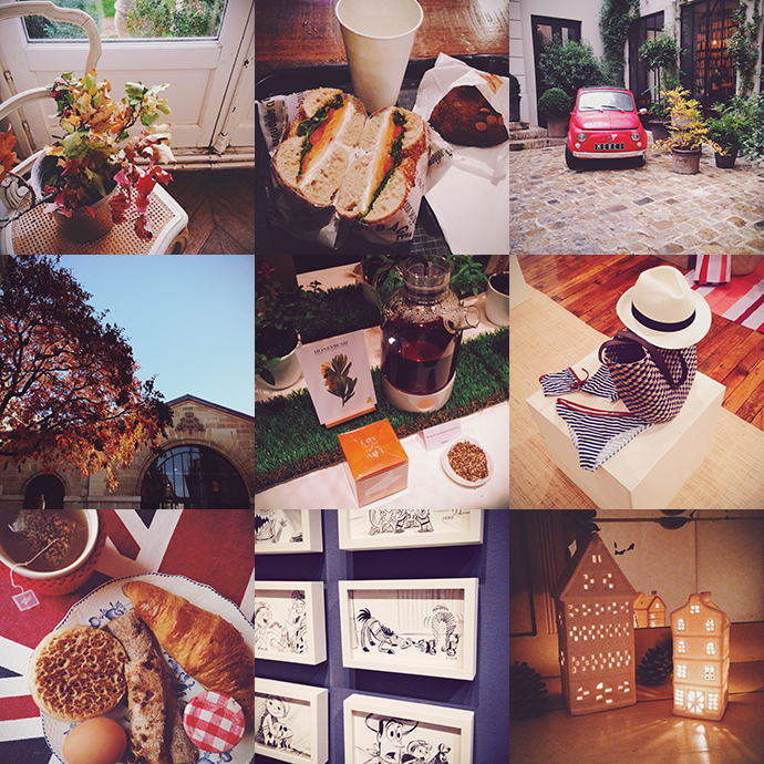 Instagrams d'Automne