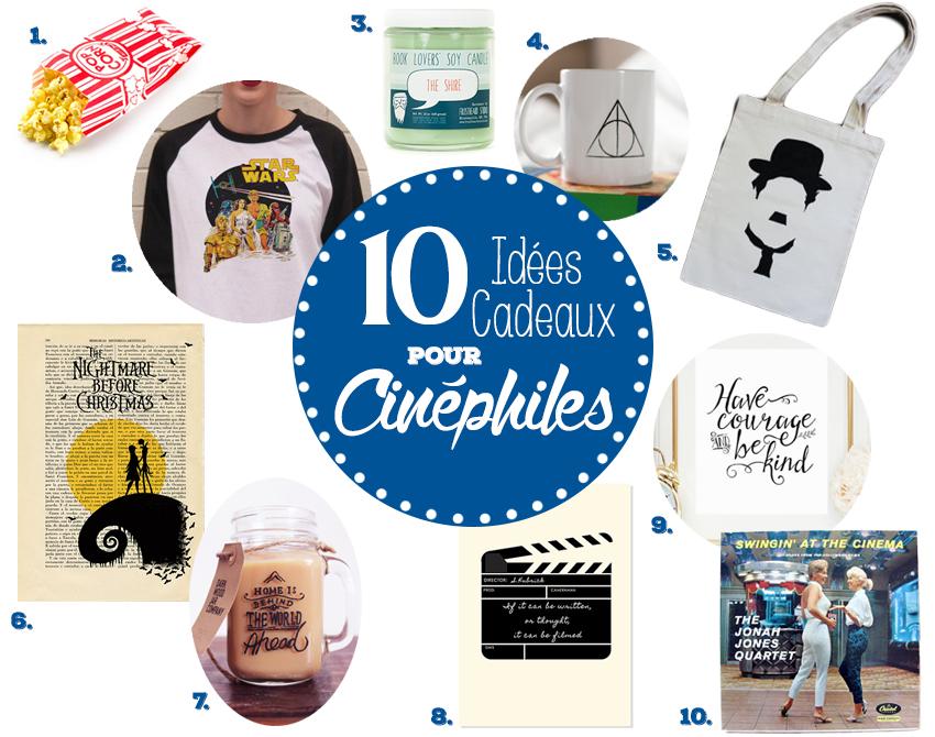 10 Idées Cadeaux pour Cinéphiles